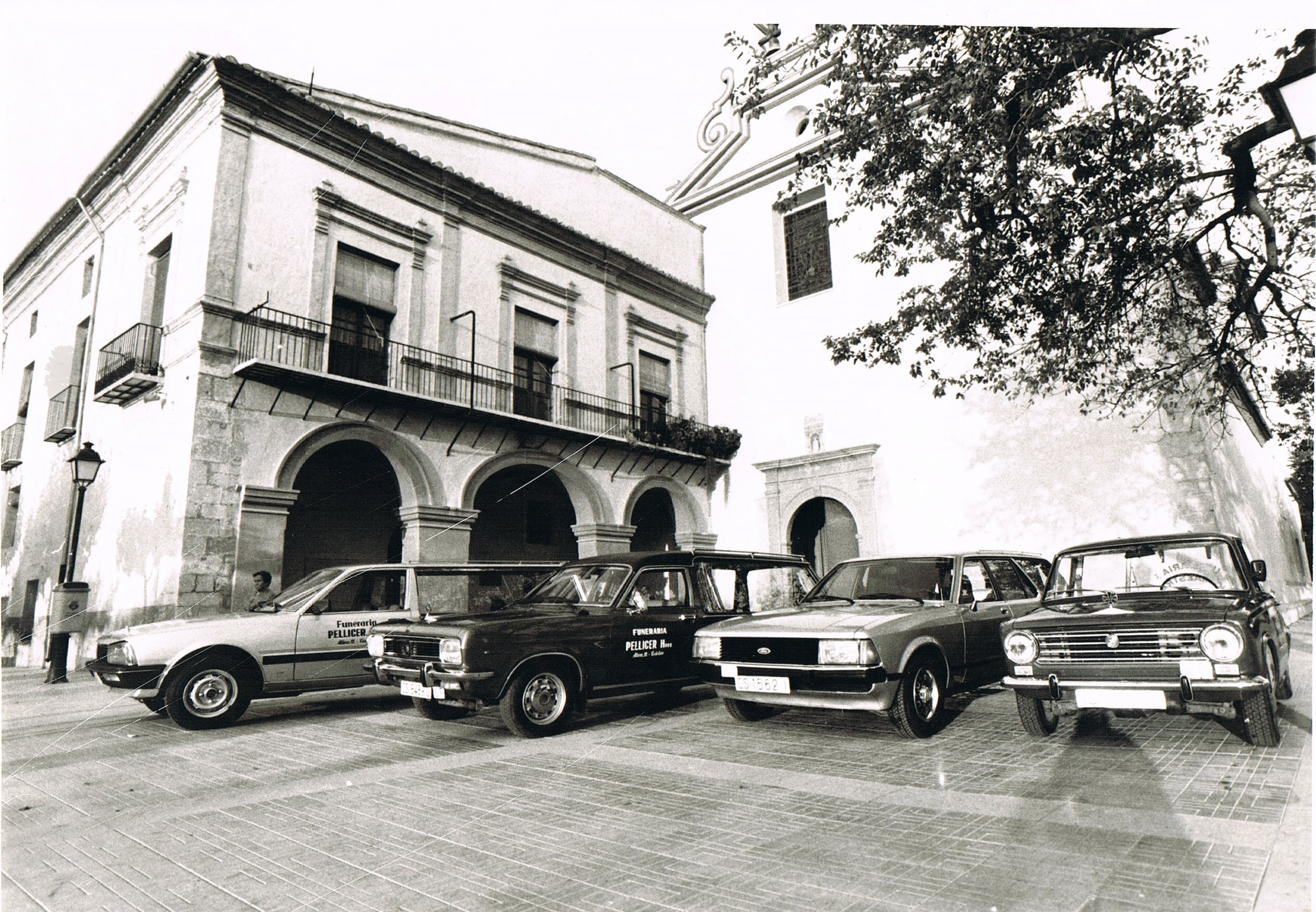 Flota de Vehículos años 70