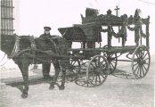 Antigua Carroza Funeraria año 1910